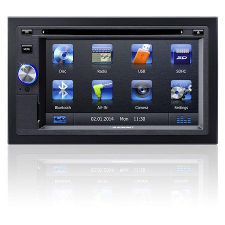Autorádio s CD/DVD BLAUPUNKT SanDiego 530 World BT, 2DIN