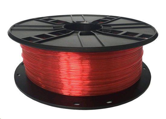 Tisková struna (filament) GEMBIRD, PETG, 1,75mm, 1kg, červená 3DP-PETG1.75-01-R, TIF0561D0