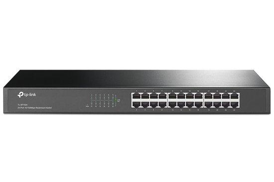 "TP-Link TL-SF1024 19"" Rackmount Switch 24x10/100Mbps"