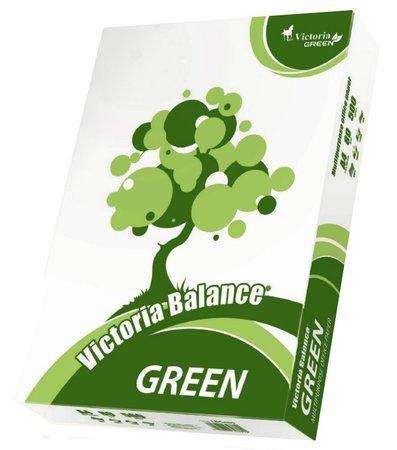 "Xerografický papír, recyklovaný, A4, 80g, ""Balance Green"" VICTORIA, bal. 500 ks"