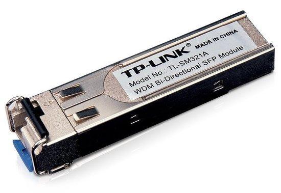 TP-Link TL-SM321A SFP WDM 1Gbps 10km/ SM/LC MiniGBIC modul, TL-SM321A