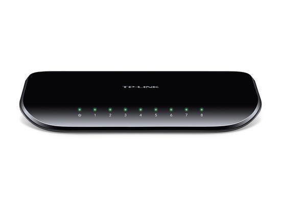 TP-Link TL-SG1008D Switch 8xTP 10/100/1000Mbps, plastový, TL-SG1008D