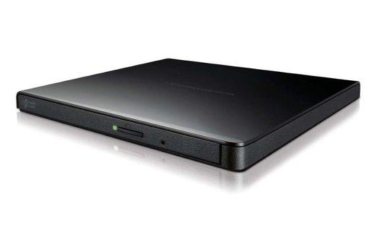 HLDS (HITACHI-LG) DVD±RW GP57EB SLIM external černá USB 2.0, 8xDVD±RW, 5xDVD-RAM, black, slim černá, GP57EB40