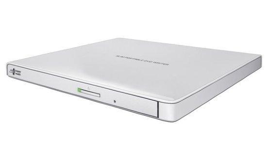 External DRW HLDS GP57EW40, Ultra Slim Portable, White, GP57EW40.AHLE10B