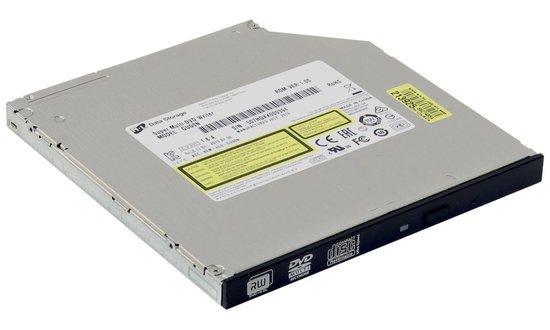 HITACHI LG - interní mechanika DVD-W/CD-RW/DVD±R/±RW/RAM/M-DISC GUD0N, Slim, 9.5 mm Tray, Black, bulk bez SW, GUD0N