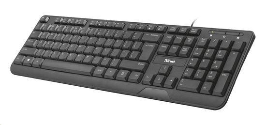 Trust Ziva Multimedia Keyboard 22173