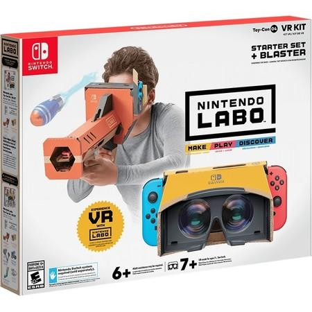 Nintendo Switch Labo VR Kit - Starter Set + Blaster