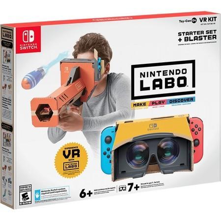 Nintendo Switch Labo VR Kit - Starter Set + Blaster