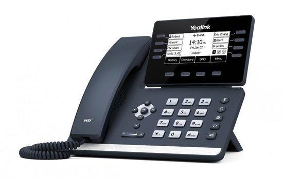 Yealink SIP-T53W IP. Tel., PoE, 3,7 bar. LCD, 8 prog. tl, 10000943
