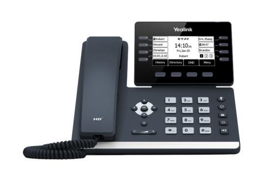 Yealink SIP-T53 IP. Tel., PoE, 3,7 bar. LCD, 8 prog. Tl, 10000976