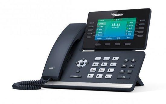 "Yealink SIP-T54W, IP Tel, PoE, 4,3"" bar. LCD, 10, prog. tl, GigE, 10000944"