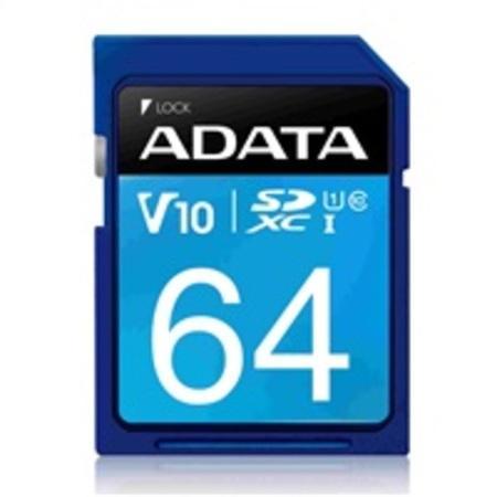 ADATA Pro SDXC 64GB UHS-I ASDX64GUICL10-R