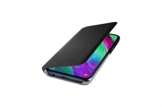 Samsung EF-WA405PB flip pouzdro Samsung Galaxy A40 černé