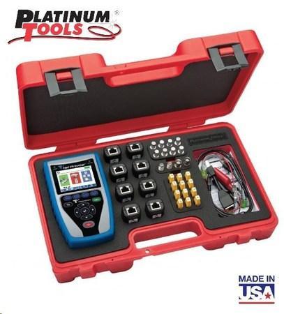 Platinum Tools NP700 KIT (TNP850K1) - Net Prowler™ analyzátor datových sítí s aktivními testy, made in USA, TNP850K1