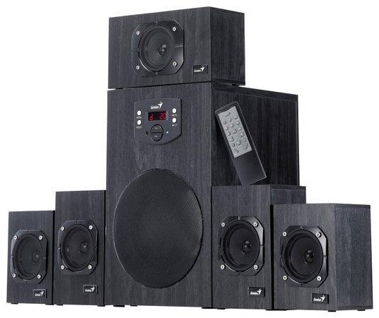 Speaker GENIUS SW-HF5.1 4500 II, 125W, 31730015400