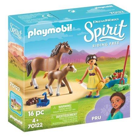 PLAYMOBIL® Spirit 70122 Próza s koněm a hříbětem