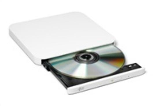 HITACHI LG - externí mechanika DVD-W/CD-RW/DVD±R/±RW/RAM/M-DISC GP90NW70, Ultra Slim, White, box+SW, GP90NW70