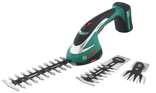 Bosch ASB 10,8 LI Set aku nůžky na trávu a keře 0600856301