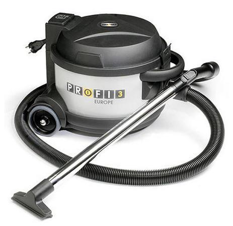 Podlahový vysavač Twist PROFI 3 stříbrný