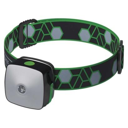 Emos LED svítilna čelovka 3v1, 3W CREE LED + SMD, nabíjecí Li-Pol