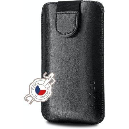 FIXED Soft Slim pouzdro se zavíráním 6XL (168x88mm) černé