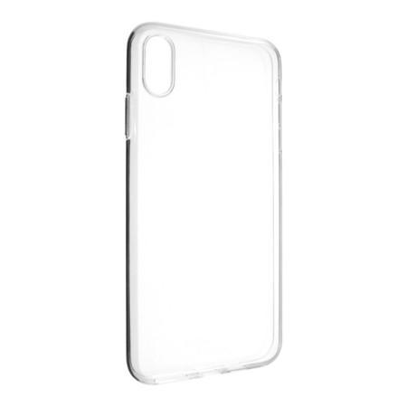 FIXED Skin ultratenké TPU pouzdro 0,6 mm Apple iPhone XS Max čiré