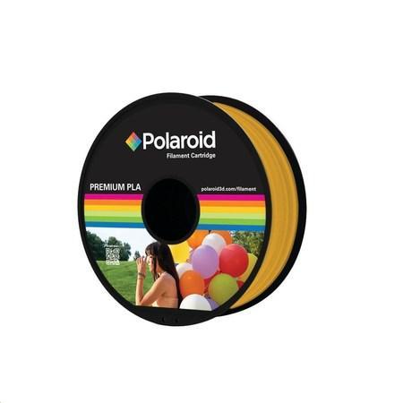 Polaroid 1kg Universal Premium PLA filament, 1.75mm/1kg - Gold, PL-8017-00
