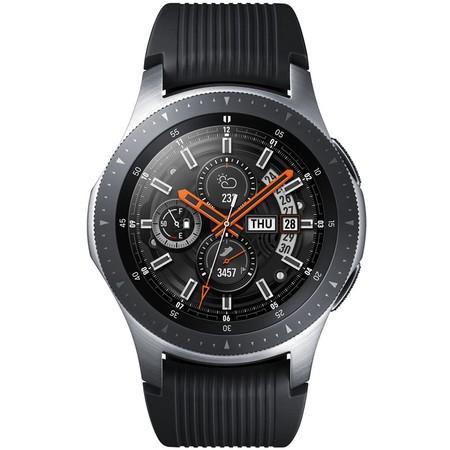 Chytré hodinky Samsung Galaxy Watch 46mm LTE - stříbrné