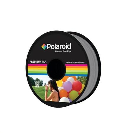 Polaroid 1kg Universal Premium PLA filament, 1.75mm/1kg - Silver, PL-8007-00