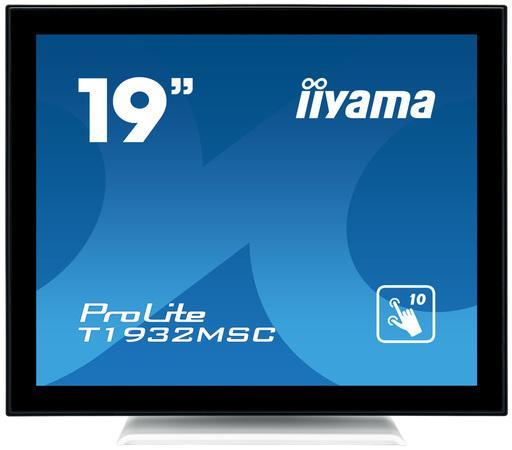 IIYAMA, 19 Tactile PCAP 1280x1024 215cd/m 1000:1, T1932MSC-W5AG