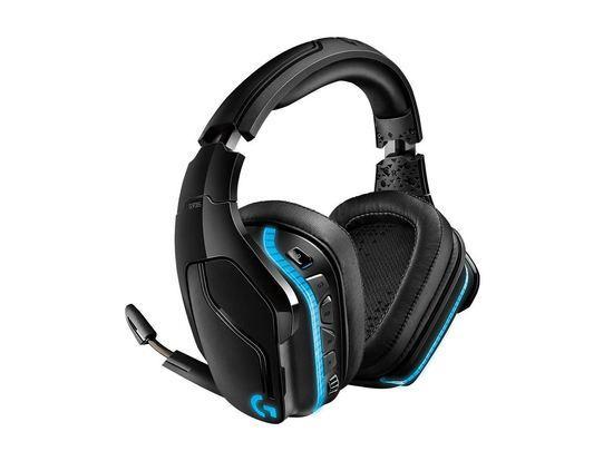 Logitech Gaming Headset G935 7.1 Surround Sound LightSync, Wireless