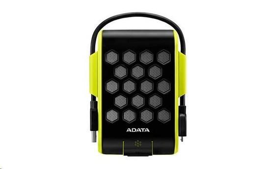 """ADATA Externí HDD 1TB 2,5"""" USB 3.0, DashDrive™ Durable HD720, G-sensor, zelený, (gumový, vodě/nárazu odolný), AHD720-1TU31-CGN"""
