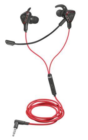 TRUST sluchátka GXT 408 Cobra Multiplatform Gaming Earphones