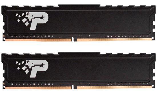 Patriot Premium DDR4 8GB ( KIT 2x4GB ) 2400MHz CL17 DIMM RADIATOR