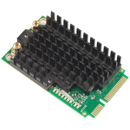 MikroTik R11e-2HPnD miniPCI-e karta 802.11b/g/n, Atheros AR9580 (2,4 GHz), R11e-2HPnD