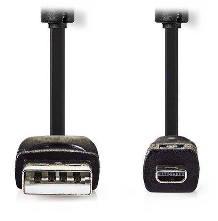 NEDIS kabel pro fotoaparát, USB 2.0 A - 8 pin zástrčka, Panasonic, Fujitsu, Kodak a další
