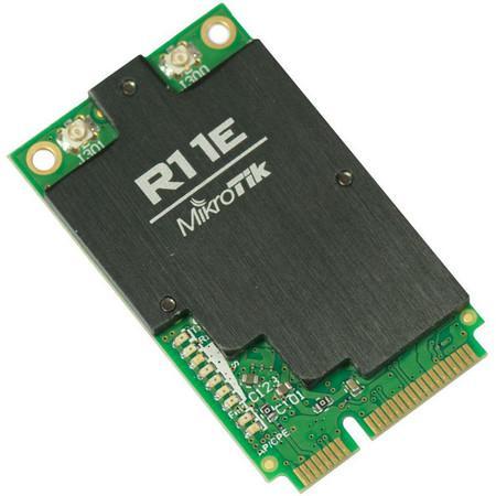 MikroTik R11e-2HnD miniPCI-e karta 802.11b/g/n, Atheros AR9580 (2,4 GHz), R11e-2HnD