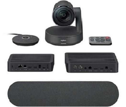 Logitech Rally Ultra-HD ConferenceCam, 1 mic, 1 repro - BLACK - EMEA, 960-001218