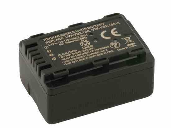 Náhradní baterie AVACOM Panasonic VW-VBK180E-K Li-Ion 3.6V 1720mAh 6.2Wh