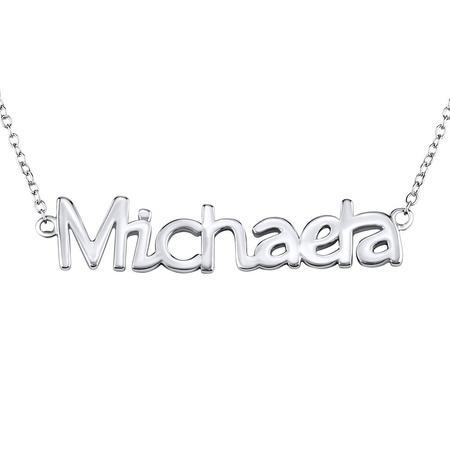 Silvego Stříbrný řetízek se jménem Michaela JJJ1859-MICH