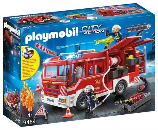 PLAYMOBIL® City Action 9464 Hasičské auto se stříkačkou