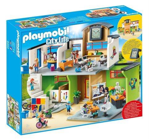 PLAYMOBIL® City Life 9453 Zařízená školní budova
