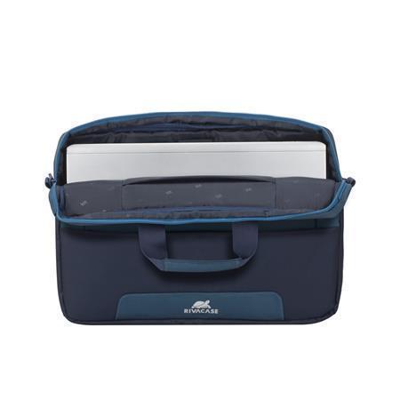 """Taška na notebook """"Suzuka 7737"""", ocelově modrá - akvamarínová, 15,6"""", RIVACASE, 4260403574683"""