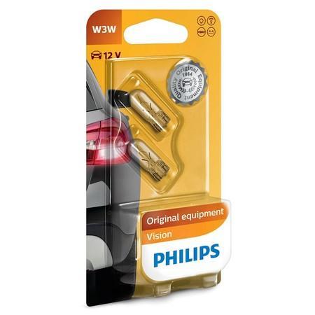Philips Vision 12256B2 W3W W2,1x9,5D 12V 3W