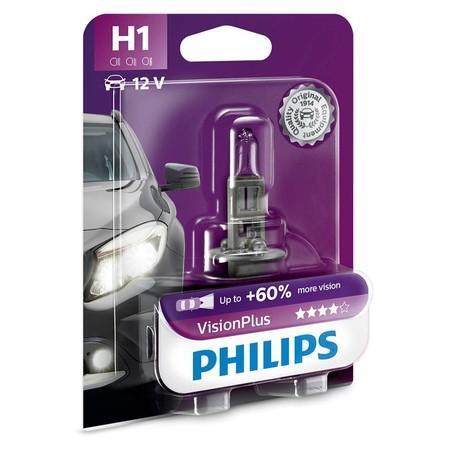 Philips VisionPlus 12258VPB1 H1 P14,5s 12V 55W