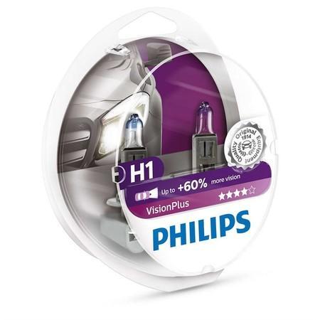 Philips VisionPlus 12258VPS2 H1 P14,5s 12V 55W