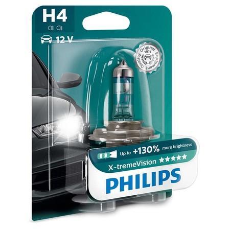 Philips X-treme Vision 12342XVB1 H4 P43t-38 12V 60/55W