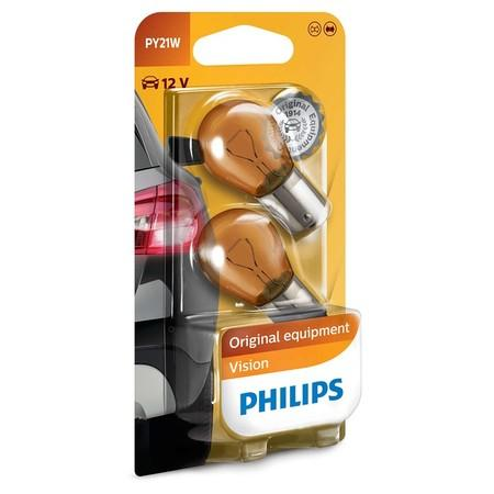 Autožárovka Philips Vision PY21W, 2ks