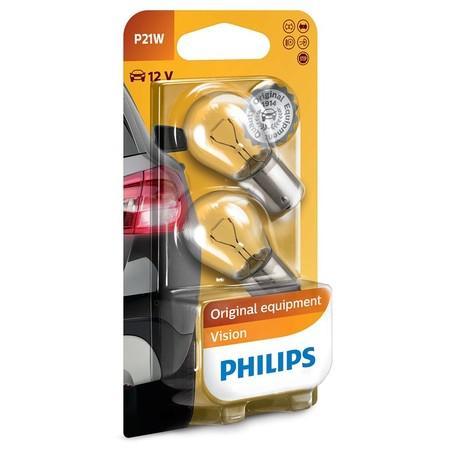 Autožárovka Philips Vision P21W, 2ks