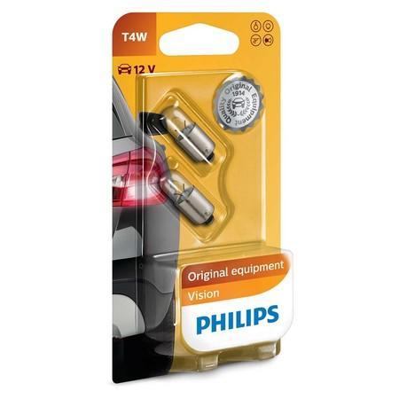 Philips 12929B2 T4W BA9S 12V 4W